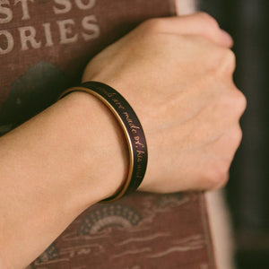Wuthering Heights Cuff Bracelet