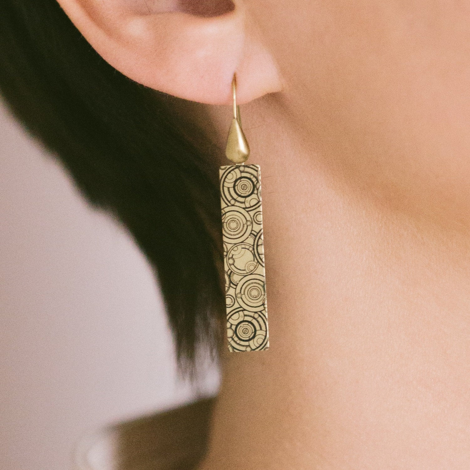 Gallifrey Dr Who Earrings