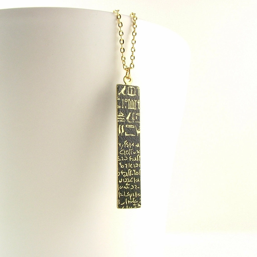 Rosetta Stone Necklace