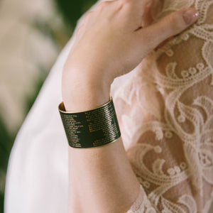 Shakespeare's The Three Witches Cuff Bracelet