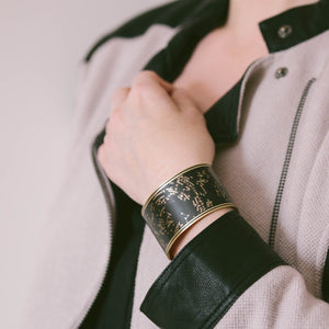 Star Constellations Cuff Bracelet