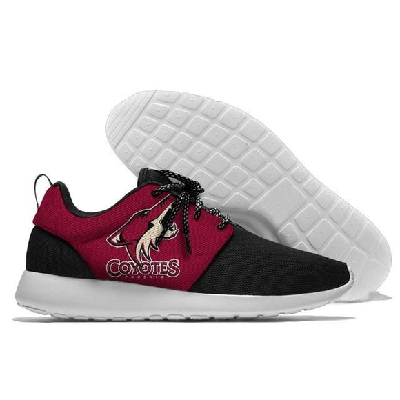 NHL Shoes Sneaker Lightweight Arizona Coyotes Shoes For Sale Super Comfort-Running Shoes-4 Fan Shop