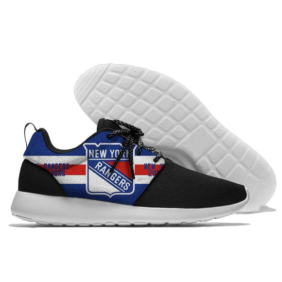 NHL Shoes Sneaker Lightweight New York Rangers Shoes For Sale Super Comfort-Running Shoes-4 Fan Shop
