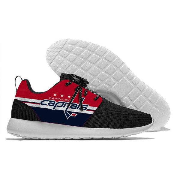 NHL Shoes Sneaker Lightweight Washington Capitals Shoes For Sale Super Comfort-Running shoes-4 Fan Shop
