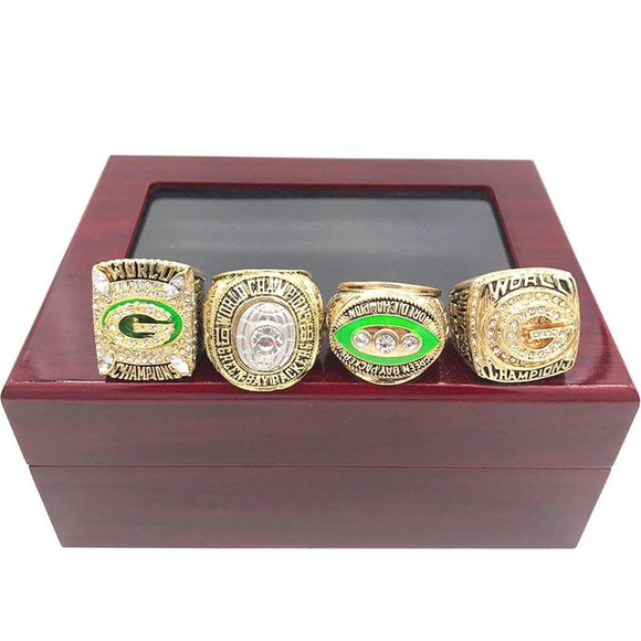1966 1967 1996 2010 Green Bay Packers Super Bowl Rings Set
