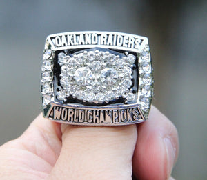 1980 Oakland Raiders Rings For Sale - Las Vegas Rings