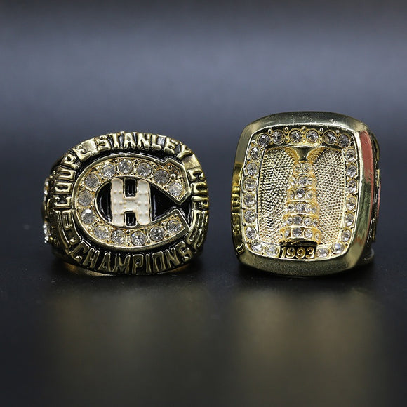 1986 1993 Montreal Canadiens Stanley Cup Rings Set