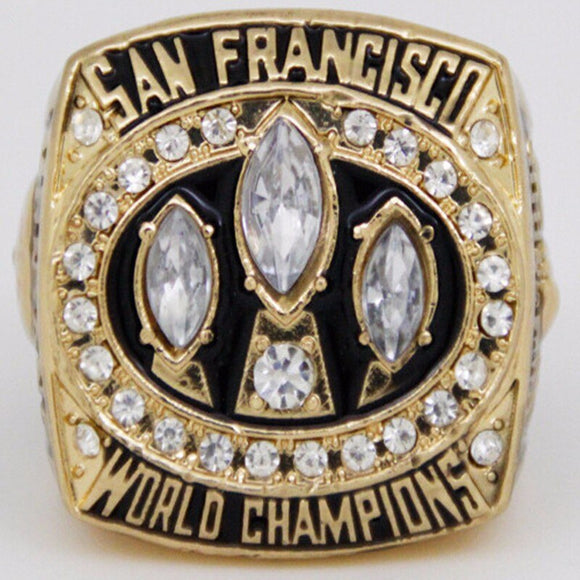 1988 San Francisco 49Ers Super Bowl Rings Replica