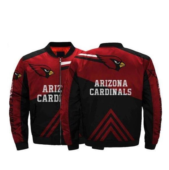 Men Bomber Jackets Arizona Cardinals Jacket Coats-jacket-4 Fan Shop