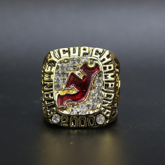 2000 New Jersey Devils Stanley Cup Ring For Sale