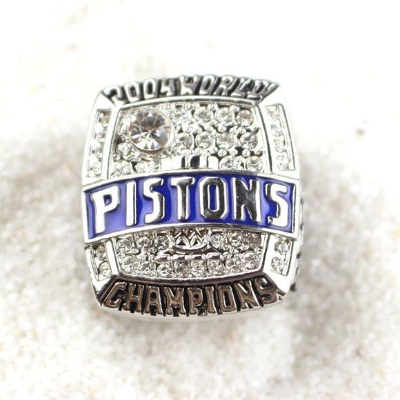 2004 Detroit Pistions Championship Ring Replica