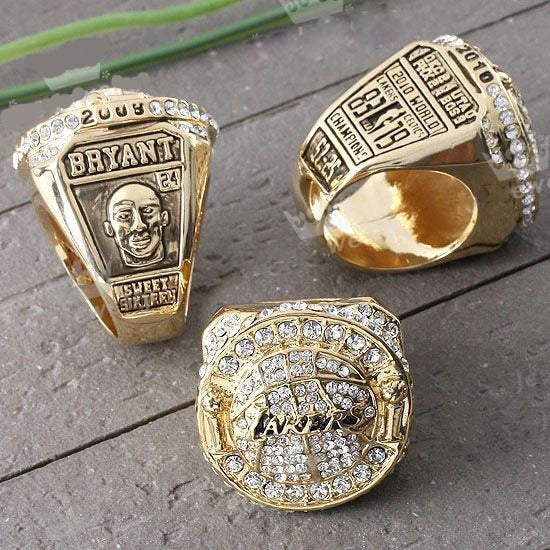 2010 Los Angeles Lakers Championship Replica Rings