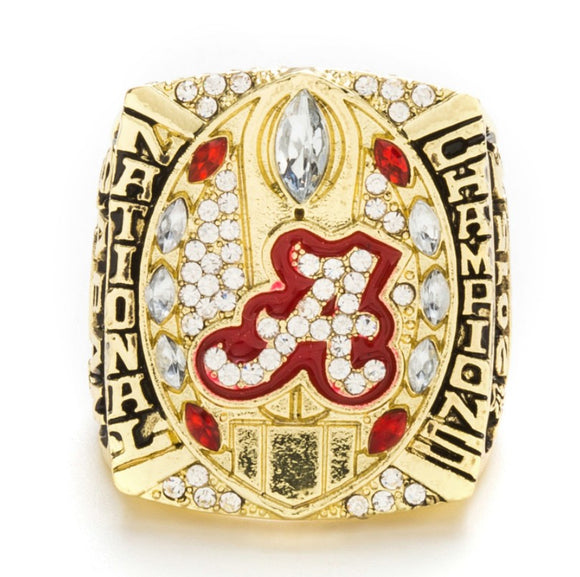 2015 Alabama Crimson Tide Championship Ring For Sale