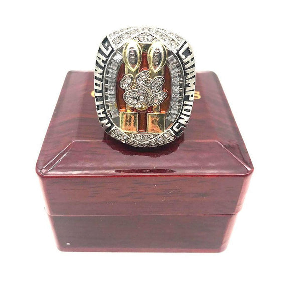 2018 Clemson Tigers National Championship Ring