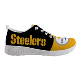 Best Wading Shoes Sneaker Custom Pittsburgh Steelers Men's Shoes Super Comfort-Shoes-4 Fan Shop