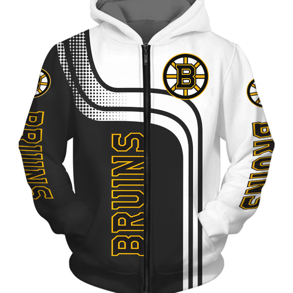 Boston Bruins Hoodies Cheap 3D Sweatshirt Long Sleeve-Sweatshirt-4 Fan Shop