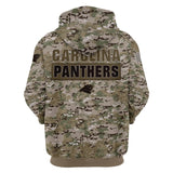Carolina Panthers Camo Hoodie 3D Printed-Sweatshirt-4 Fan Shop