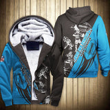 Carolina Panthers Fleece Jacket Graphic Cartoon Athlete Ball Star-jacket-4 Fan Shop