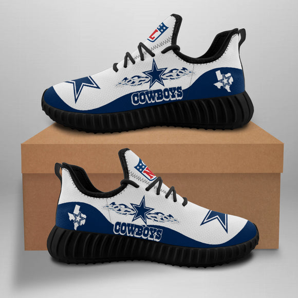 Dallas Cowboys Sneakers Running Shoes For Men Women-Shoes-4 Fan Shop