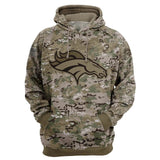 Denver Broncos Camo Hoodie 3D Printed-Sweatshirt-4 Fan Shop