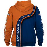 Denver Broncos Zip Up Hoodies 3D Highway Letter Broncos-hoodies-4 Fan Shop