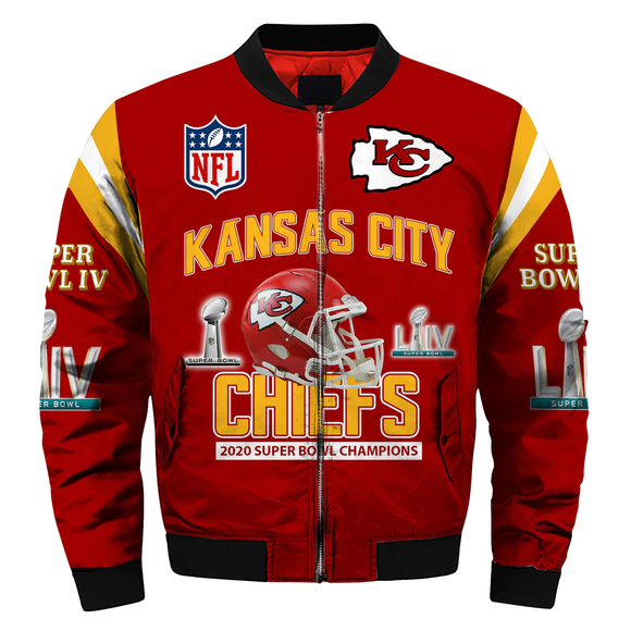 Kansas City Chiefs Super Bowl Jacket Super Bowl LIV-jacket-4 Fan Shop