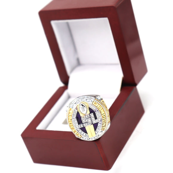 LSU National Championship Ring 2020