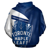 Lastest Toronto Maple Leafs Hoodie 3D With Hooded Long Sleeve-hoodie-4 Fan Shop
