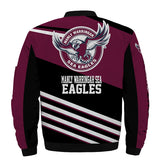 Manly Warringah Sea Eagles Jacket 3D Full-zip Jackets-jacket-4 Fan Shop