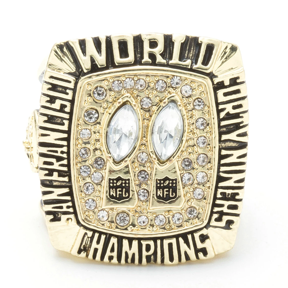 NFL 1984 San Francisco 49Ers Rings Super Bowl XIX