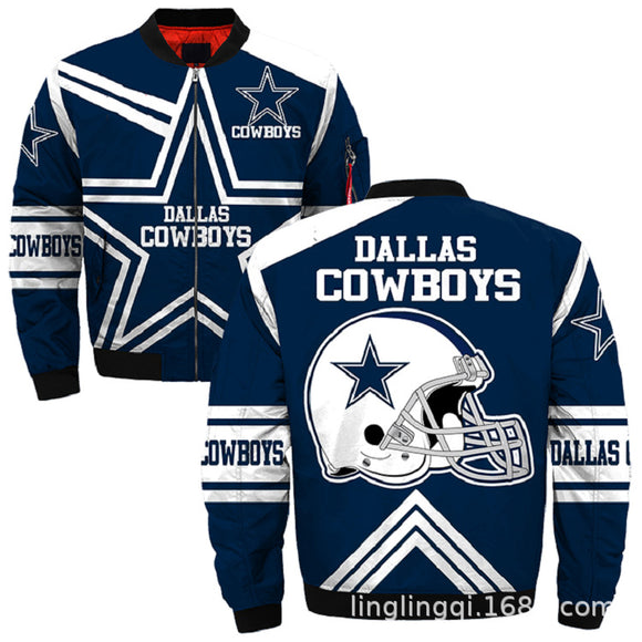 NFL Jacket Custom Dallas Cowboys Jackets Cheap For Fans-jacket-4 Fan Shop