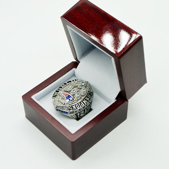 NFL New England Patriots Super Bowl Ring 2019 For Sale-Ring-4 Fan Shop