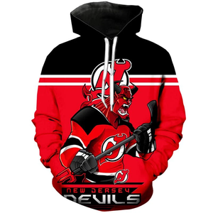 New Jersey Devils Hoodie Mascot 3D Printed-Sweatshirt-4 Fan Shop