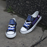 New York Giants Women's Shoes Low Top Canvas Shoes-Shoes-4 Fan Shop