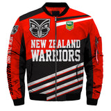 New Zealand Warriors Jacket 3D Full-zip Jackets-jacket-4 Fan Shop