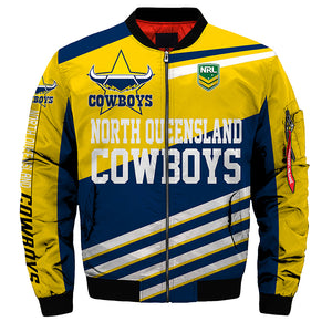 North Queensland Cowboys Jacket 3D Full-zip Jackets-jacket-4 Fan Shop