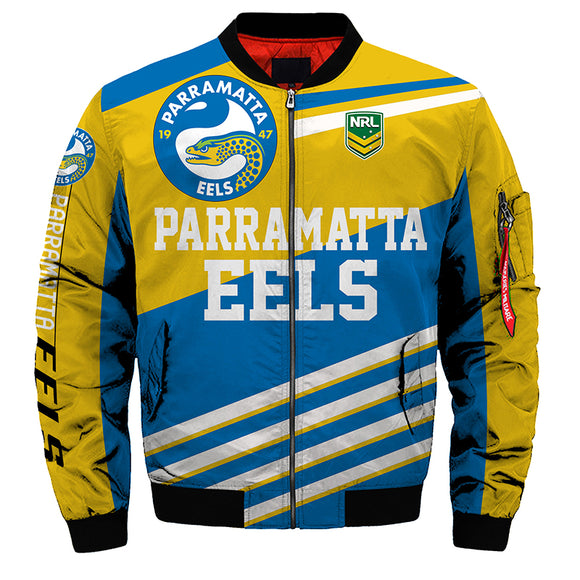 Parramatta Eels Jacket 3D Full-zip Jackets-jacket-4 Fan Shop
