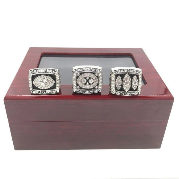 1976 1980 1983 Oakland Raiders Championship Rings For Sale