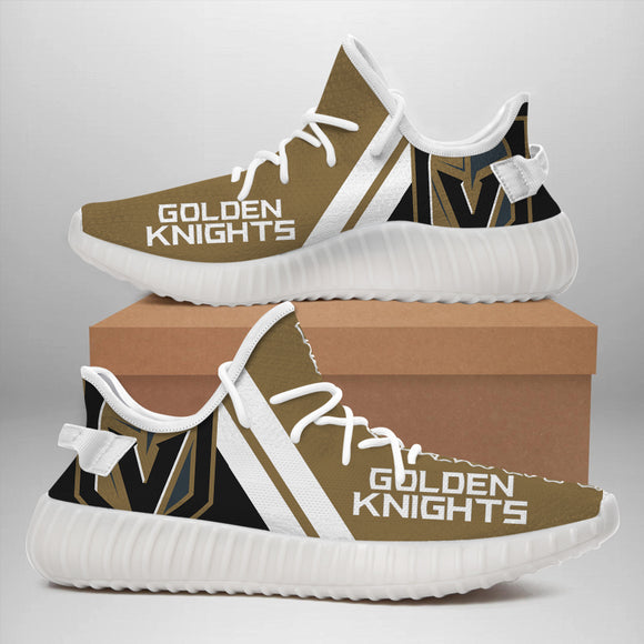 Vegas Golden Knights Sneakers Big Logo Yeezy Shoes