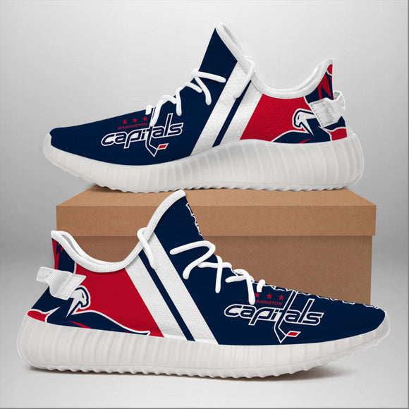 Washington Capitals Sneakers Big Logo Yeezy Shoes