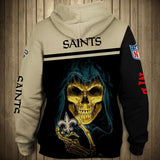 Cheap New Orleans Saints Hoodies 3D Sweatshirt Pullover-Sweatshirt-4 Fan Shop