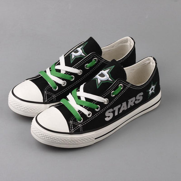 Cheap Price NHL Shoes Custom Dallas Stars Shoes For Fans-Shoes-4 Fan Shop