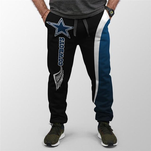 Dallas Cowboys Sweatpants Mens Printed 3D-sweatpants-4 Fan Shop