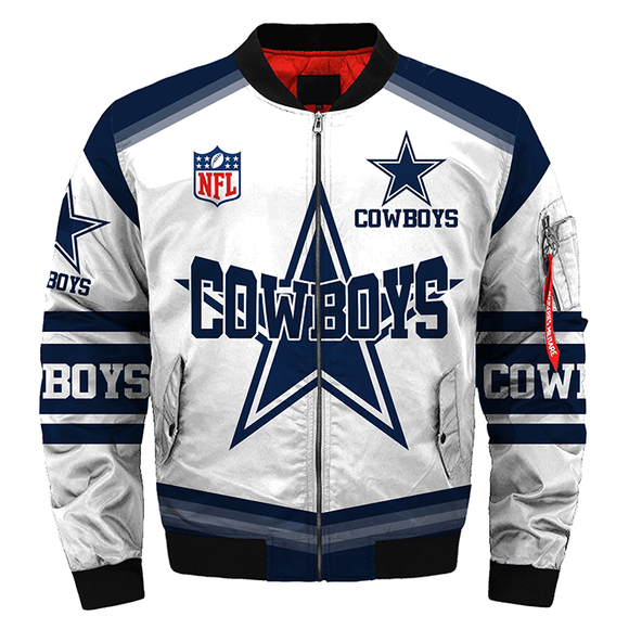 Dallas Cowboys Super Bowl Jacket For Fans-jacket-4 Fan Shop