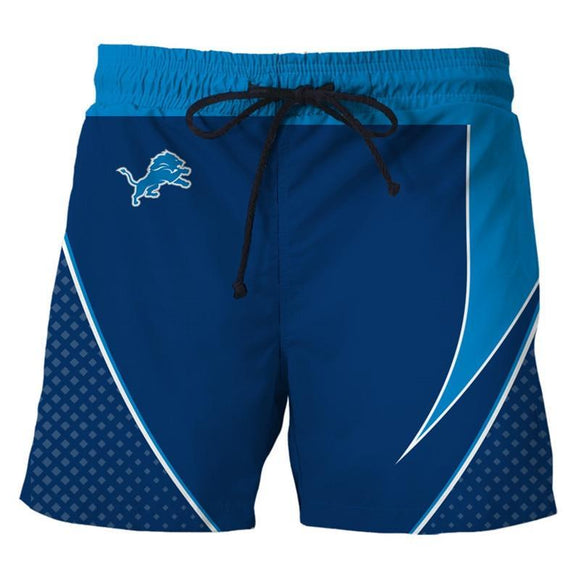 Detroit Lions Mens Shorts For Gym Fitness Running-shorts-4 Fan Shop