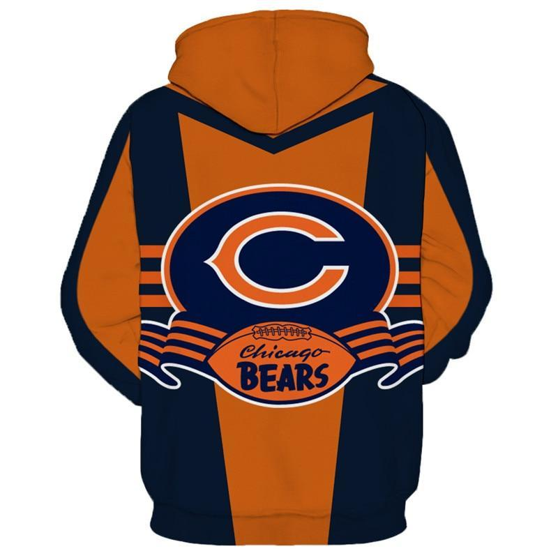 low priced 40b6d 140c8 Hot Sale NFL American Football 3D hoodied sweatshirt cool pullover Chicago  Bears