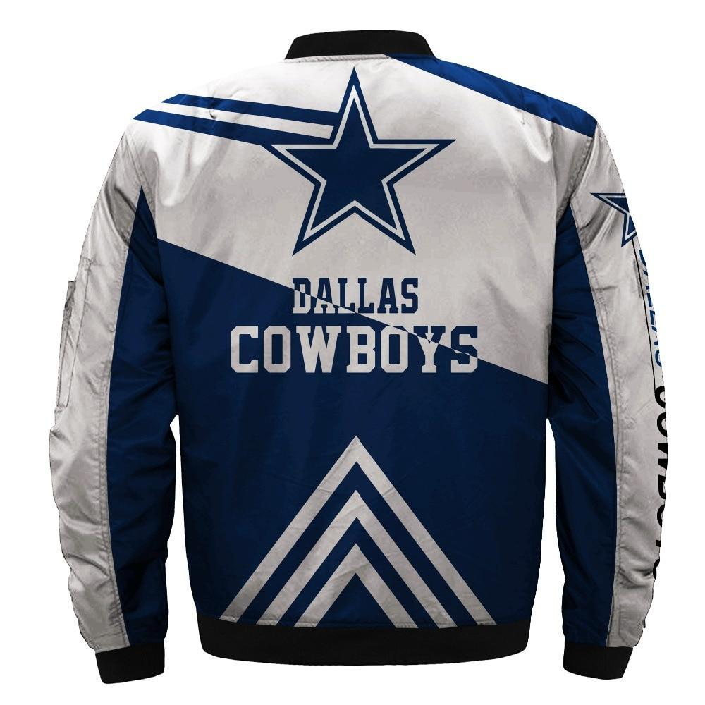 release date 1e421 e3655 Hot Sale NFL Football Men's Bomber Jacket Dallas Cowboys Bomber Jacket For  Sale