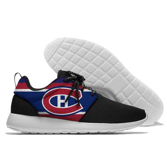 NHL Shoes Sneaker Lightweight Montreal Canadiens Running Shoes For Sale-Running Shoes-4 Fan Shop