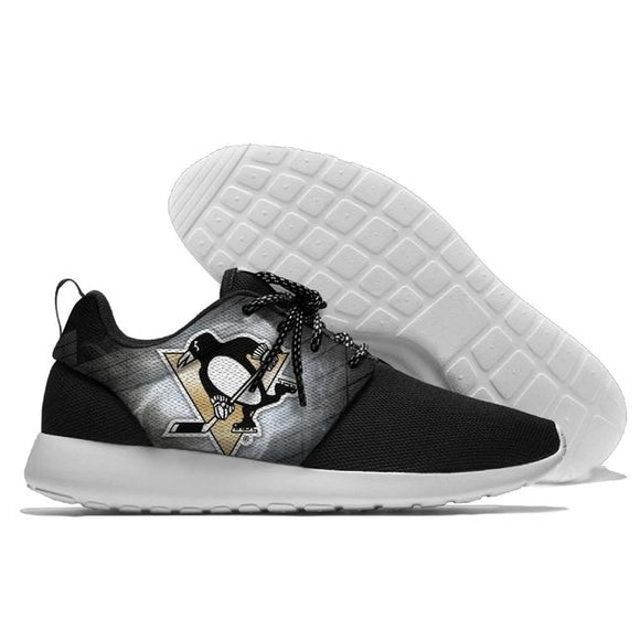 NHL Shoes Sneaker Lightweight Pittsburgh Penguins Shoes For Sale Super Comfort-Running Shoes-4 Fan Shop