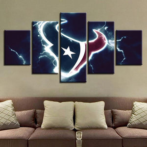 Houston Texans Wall Art Cheap For Living Room Wall Decor-canvas paintings-4 Fan Shop